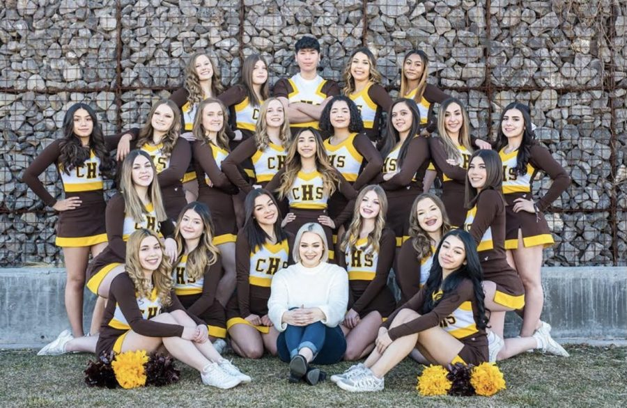 Cibola High School's  2019-2020 Varsity Cheer Team