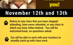 A flyer attached to Cibola's announcement of the opportunity days.