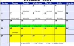 December Calendar & Final Exam Schedule